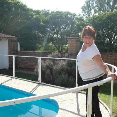Argentinian host mother ready to receive voluteers.